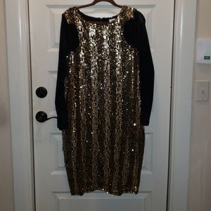 Monif C Plus Size Sequin Dress Size 2x